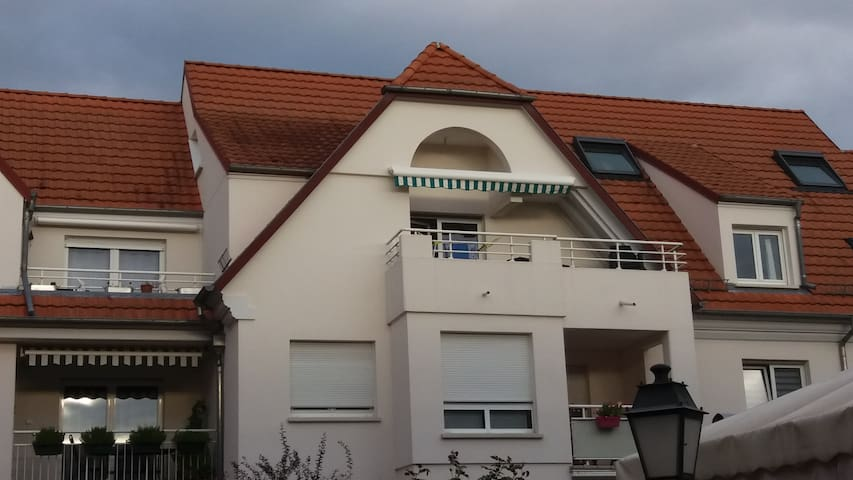 Joli appartement cosy DUPLEX proche STRASBOURG - Geispolsheim - Apartamento