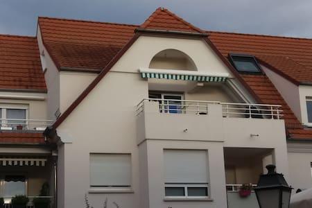 Joli appartement cosy DUPLEX proche STRASBOURG - Geispolsheim - Huoneisto