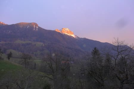 Ferme rénové  entre Lac et Montagne - Aviernoz - Dom