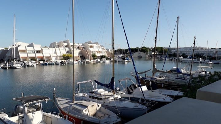 Appartement 64m2 vue mer et vue port de plaisance