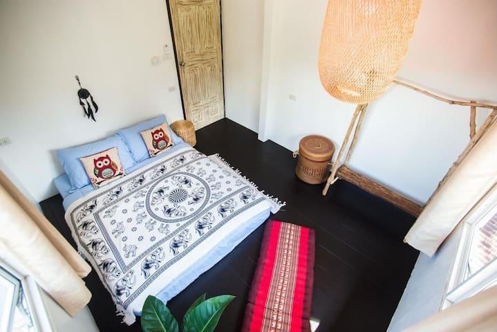 Cozy Double Room @ Sweet Life Community Guesthouse