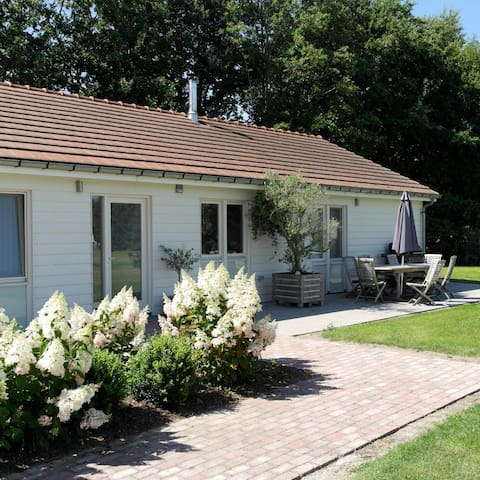 Luxe 8-persoons vakantiehuis op het platteland