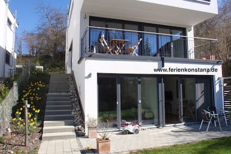 Sunny flat with terrace close to lake - Konstanz