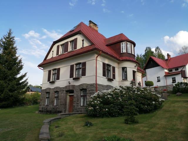 Ubytování v soukromí v klidném prostředí hor