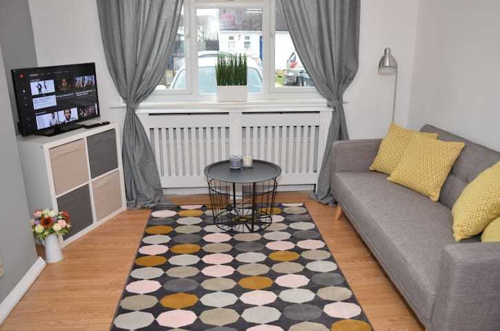 Two bedroom ground floor apartment