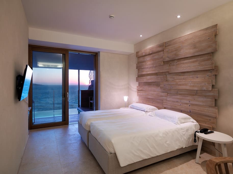 The bedroom of your Deluxe room