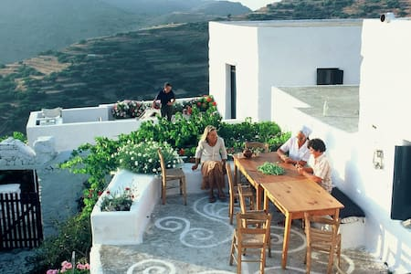 Traditional Greek Island House in the Cyclades - Aegiali