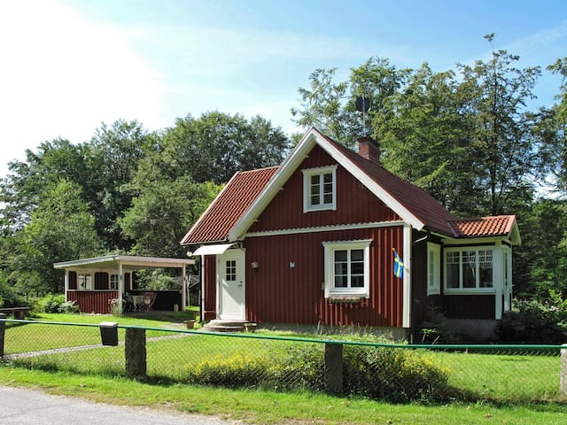 Holiday home with garden in Olofström