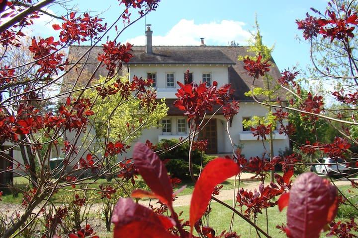 Chambre indépendante à  10 km du zoo de Beauval - Thésée - Andre