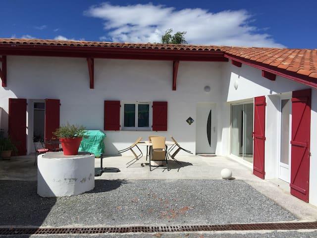 Maison individuelle au Pays Basque 2 à 6 pers