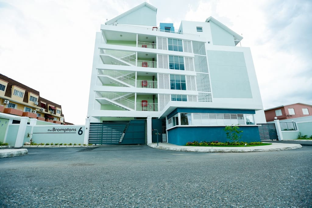 Brand new and modern high-rise building with 24 hour security, access controlled entrance, elevator, infinity pool, back up power for select outlets within apartment, back up water storage, general laundry area, and much more...