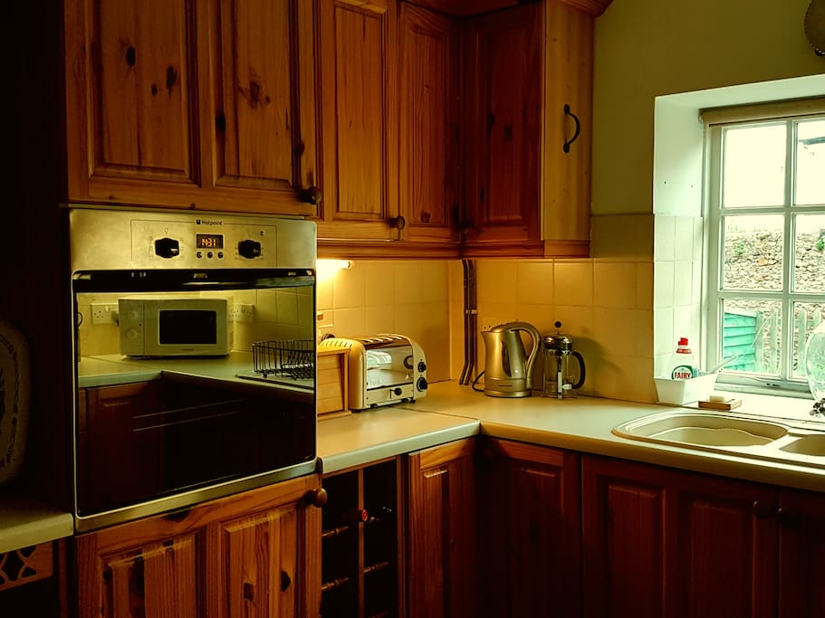 Full size fully equipped kitchen
