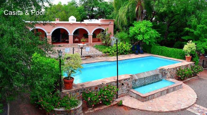 Alamos, Sonora, Loma de Guadalupe Casita, Pool.