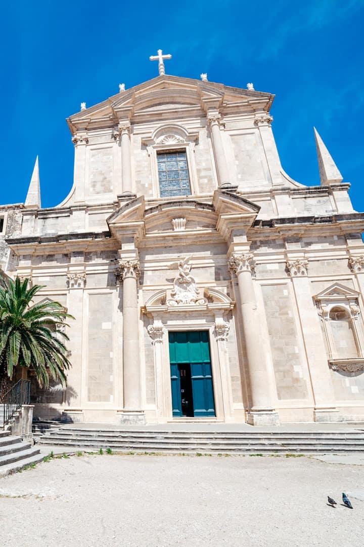 Jesuit complex and St. Ignatius church