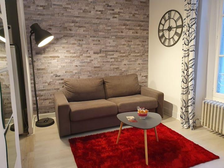 Studio cosy Lourdes 22m2. The perfect place. Wifi