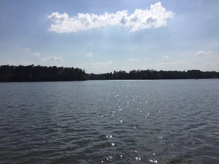 Spacious Lake Murray Waterfront Retreat w/ a View