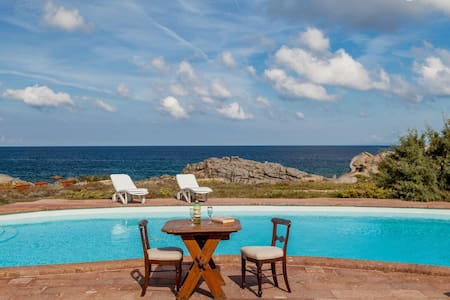 Villa Mariu e Amelie with private pool at the sea - Portobello - Casa