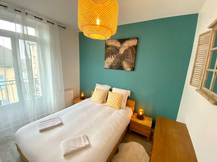 Appartement 4 neuf, chaleureux au cœur d'Annemasse
