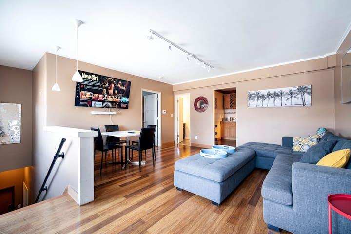 Spacious Independent 1 BR. Ballard Apartment
