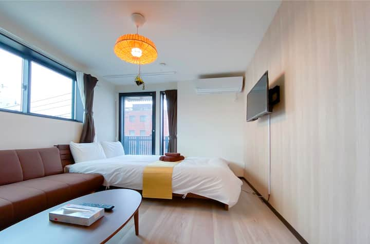 #302 Walk to Skytree! Cozy Apt 1 BR for 2ppl