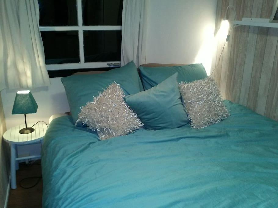 We krijgen veel complimenten voor het comfortabele bed.
