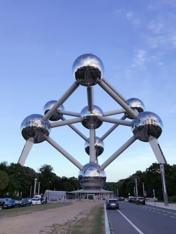 Welcome, Bienvenue chez Atomium 40