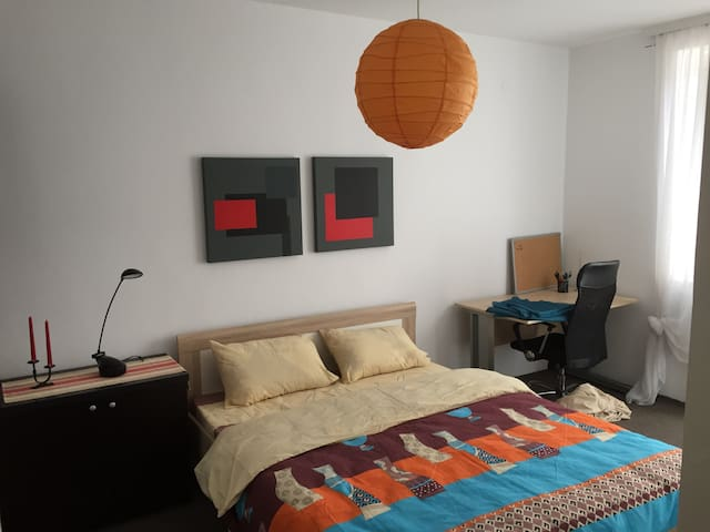 Cozy & bright apartment in center - Prishtina - Apartamento