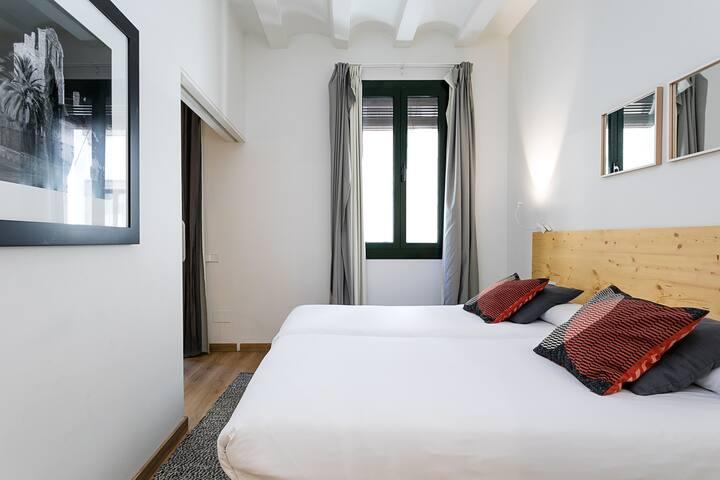 Bedroom (3 of 3) full of light