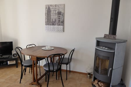 Stilvolle 2-ZiWo mit geheiztem Pool - Brissago - Apartmen