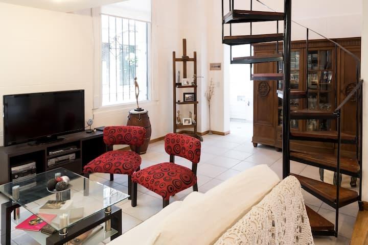 Hab privada con baño en suite San Telmo