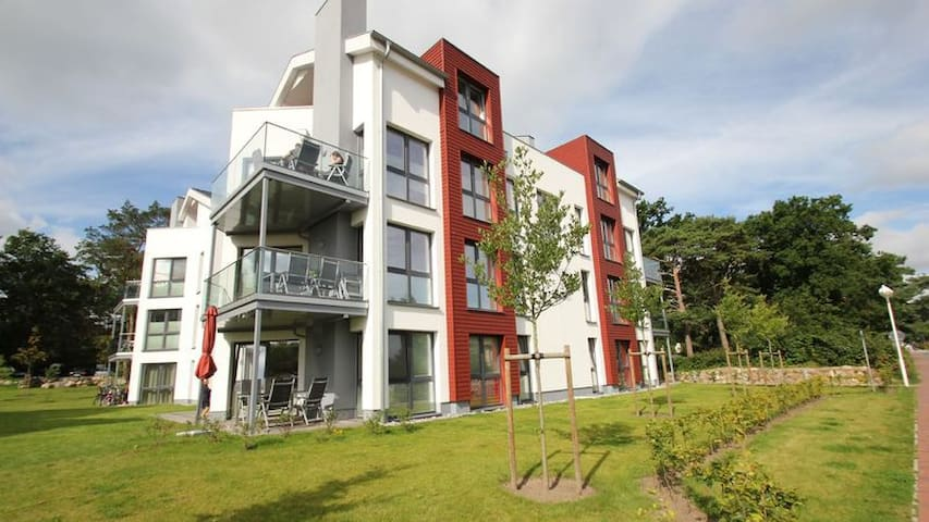 Strandvilla Baabe Wohnung 11 - Baabe - Apartment