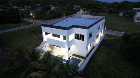 Casablanca San Blas espectacular casa de playa moderna de lujo en privado, perfecta para disfrutar un dia de lujos
