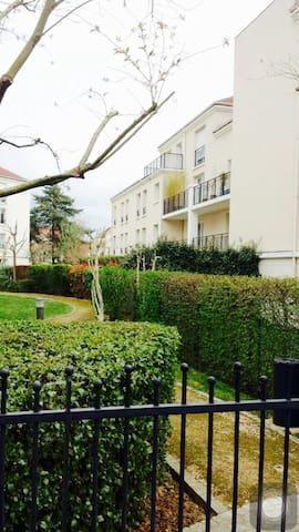 Belle chambre confortable près SQY - Guyancourt - Apartamento