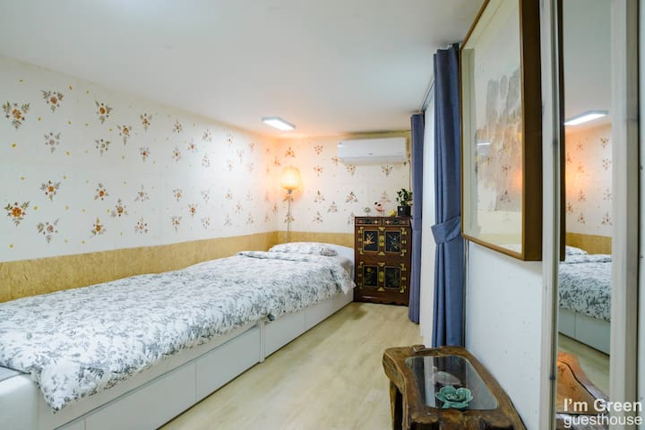 """Twin room """"Traditional Korean style"""""""