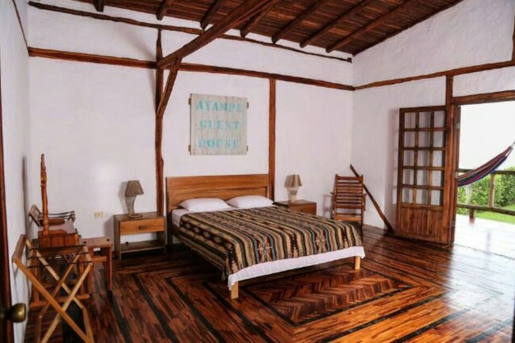 Ayampe Guest House Master Suit With Balcony
