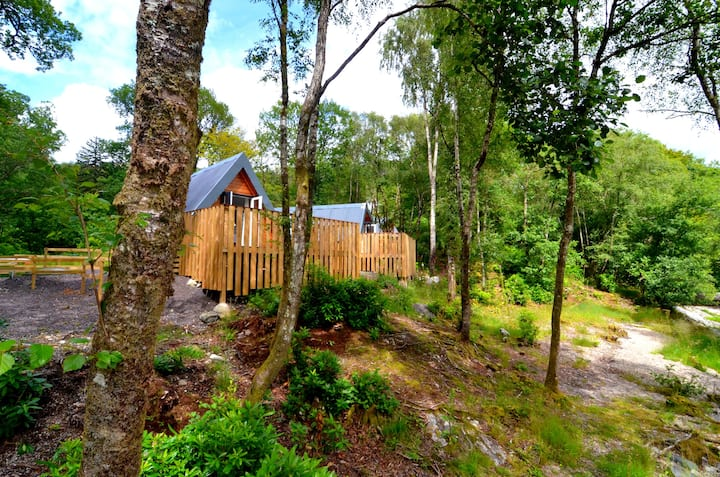 Glenfinnan Retreats OAK Cabin