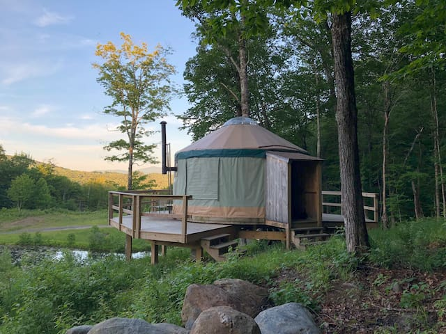 The Yurt at Starlight Camp