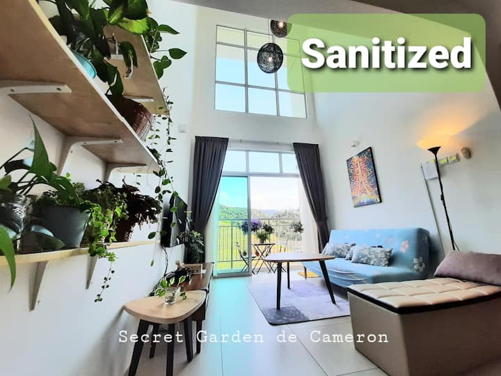 Penthouse (3BR)- Secret Garden, Night market