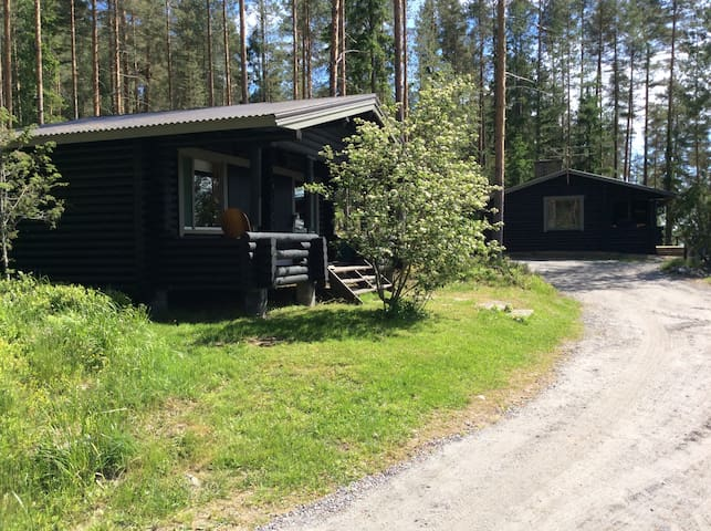 Summergottage at Suvasvesi lake in Vehmersalmi