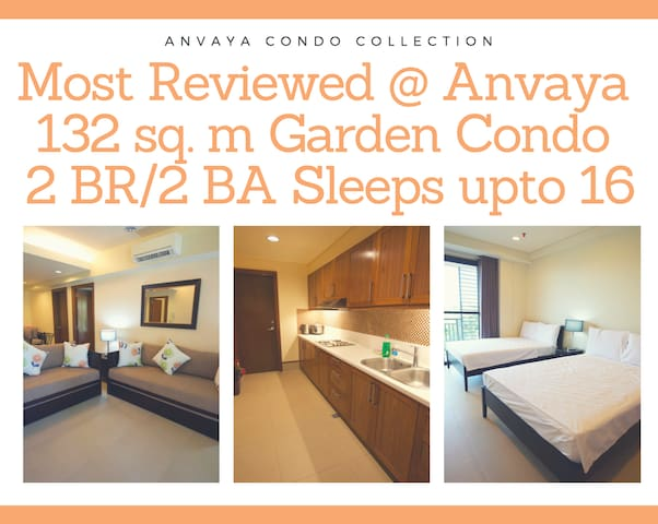 Most Reviewed 2BR/2BA Big Garden Unit WiFi/Netflix