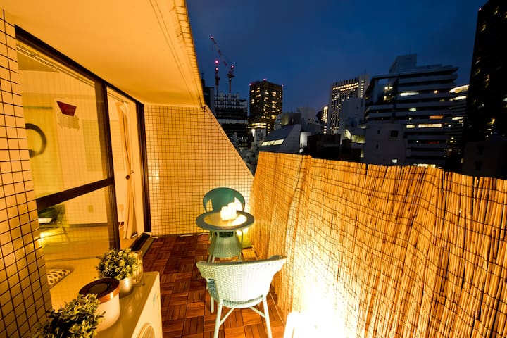 Spacious & Prime Location  Ideal for Sakura  - Minato-ku - Apartamento