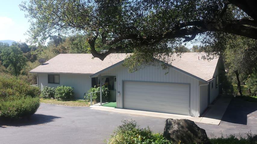 Circle K Ranch Bungalow in Ahwahnee, Ca.