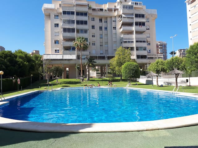 Apartment,Big swimming pool, beach, tennis,relax.