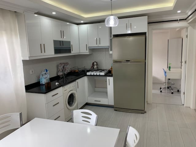 Close to city center, furnished flat for families
