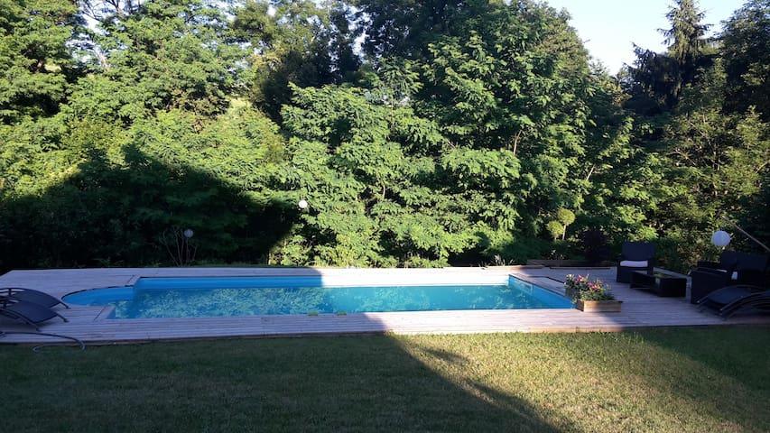 Maison avec piscine dans la campagne d'Annecy - Vaulx - House