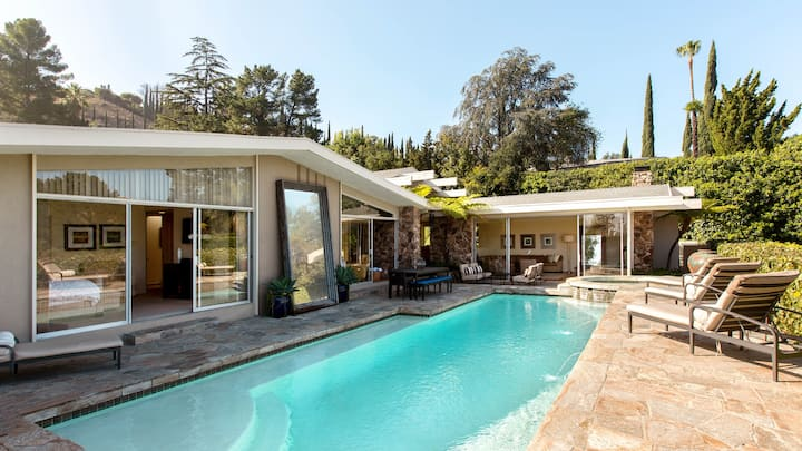 Hollywood Hills Mid-Century Modern