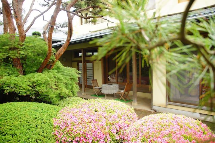 4 season's Tatami room, nearby Hot spring, Mt.Fuji