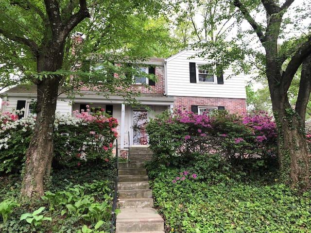 Cute House in Bethesda, Maryland near DC