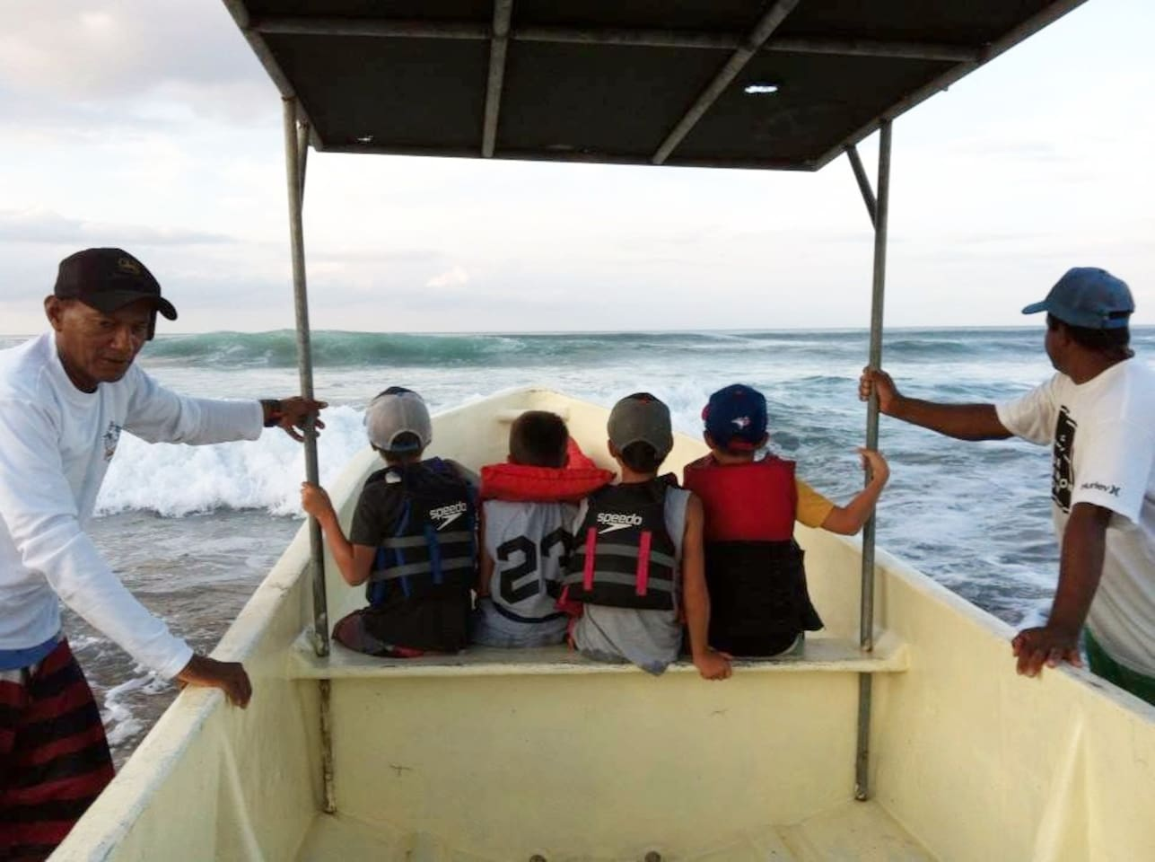 Boat trips are offered to Playgrounds, Lance's Left, Manzanillo Point or the outer reef!    Or take a fishing trip to catch some local delicacies like Red Snapper, Mahi Mahi and possible Ahi Tuna if you're lucky!  And see dolphins, whales or turtles?
