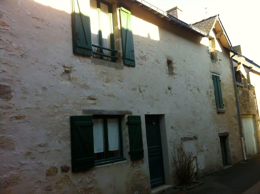 Maison ancienne typique de Piriac